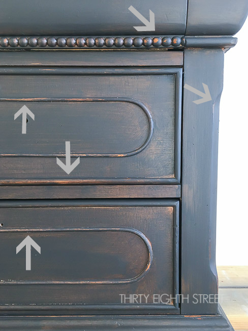 Easy Distressing Furniture Technique For A Natural Look