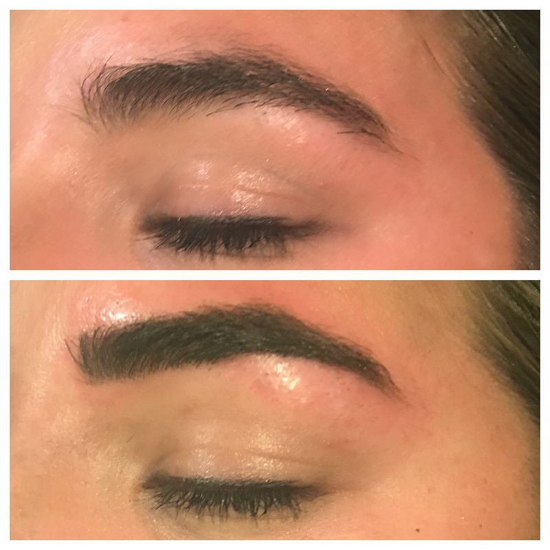 eyebrow tattoo, face tattoo, kate parker microblading