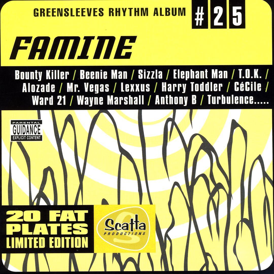 Le Riddim Dancehall : Famine Riddim (2002)
