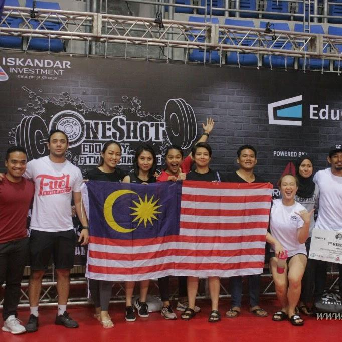 Keseruan Menonton One Shot EduCity Fitness Challenge 2018 di Iskandar Putri, Johor