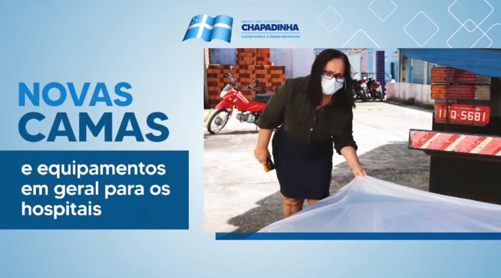CHAPADINHA | Prefeitura Entrega Material Adquirido para a Ampliação de Alas e Atendimentos na UPA e HAPA