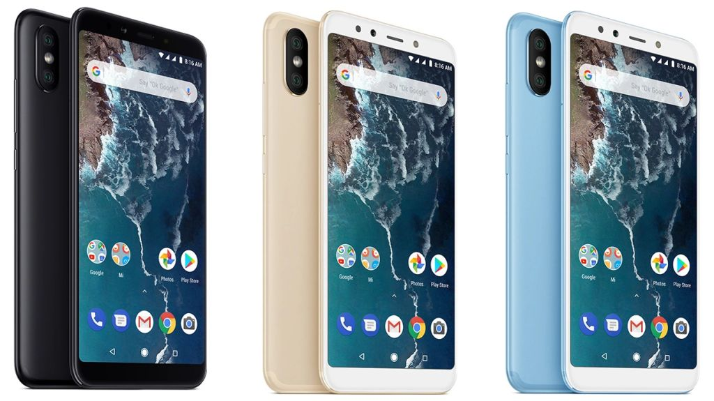 Xiaomi Mi A2 (2018) with Specifications and Prices