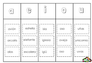 silabario para imprimir y recortar