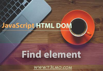 ايجاد عنصر html عن طريق object الجزء الثاني