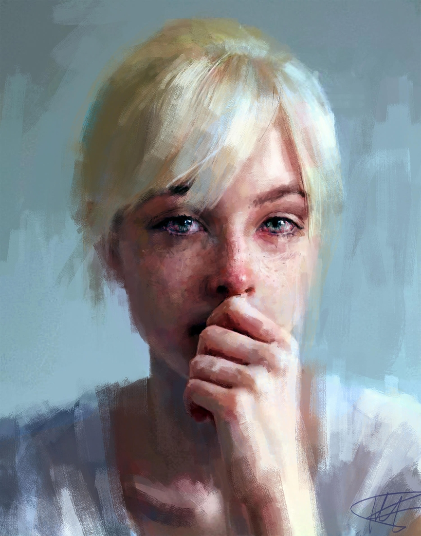 01-Ivana-Besevic-Portrait-Paintings-that-Express-Raw-Emotions-www-designstack-co