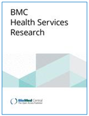 Image of front cover of BMC Health Services Research