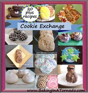 Cookie Exchange | graphic designed by and property of www.BakingInATornado.com | #MyGraphics