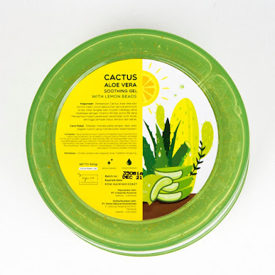 Npure Cactus Aloe Vera 92 Soothing Gel