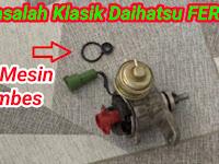 Cara mengatasi oli mesin rembes pada mobil daihatsu Feroza,Espas,Zebra