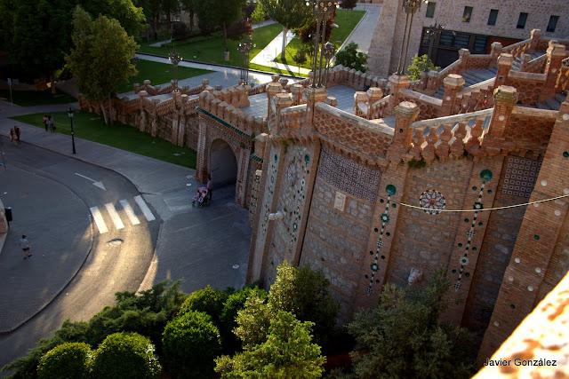 Escalinata neomudejar. Teruel