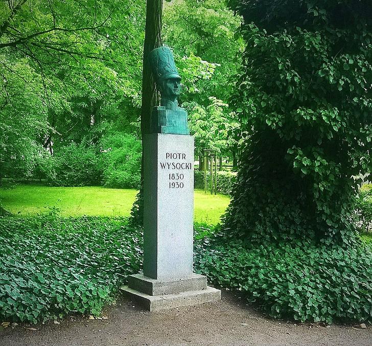 pomnik piotra wysockiego