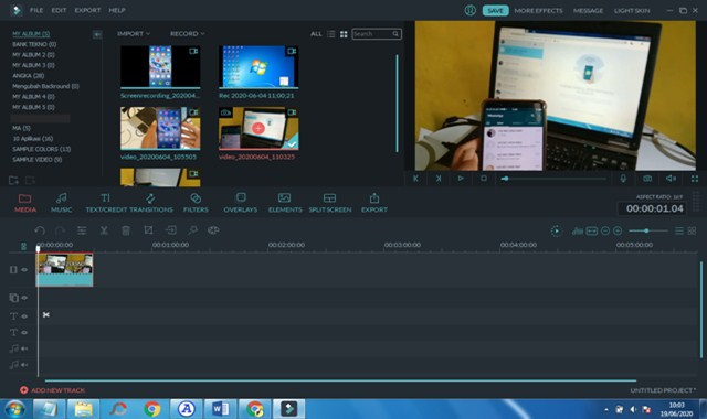 Aplikasi Edit Video PC Ringan dan Bagus