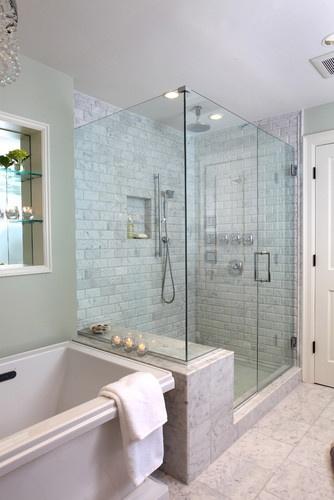 60 Desain Kamar Mandi Shower Minimalis Tanpa Bathtub Rumah Asia