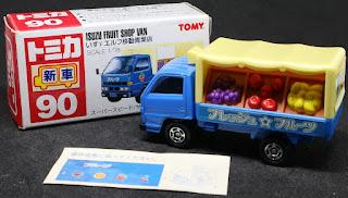 Tomica - 90 新車 , 紙盒裝