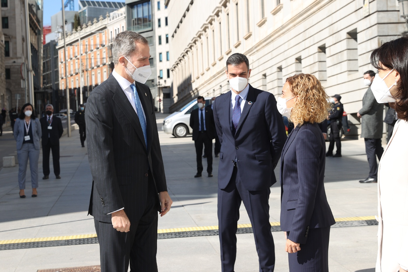 King Felipe of Spain attended 40TH Anniversary oF February 23, 1981's Institutional Act