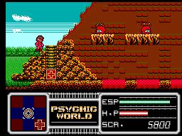 Jogue Psychic World online para Master System