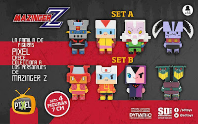 Per la Pixel Collection arriva Mazinga Z