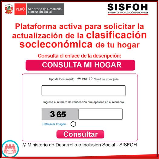 Nuevo Empadronamiento De Mayo En SISFOH Para Cobrar Los Bonos Estatales