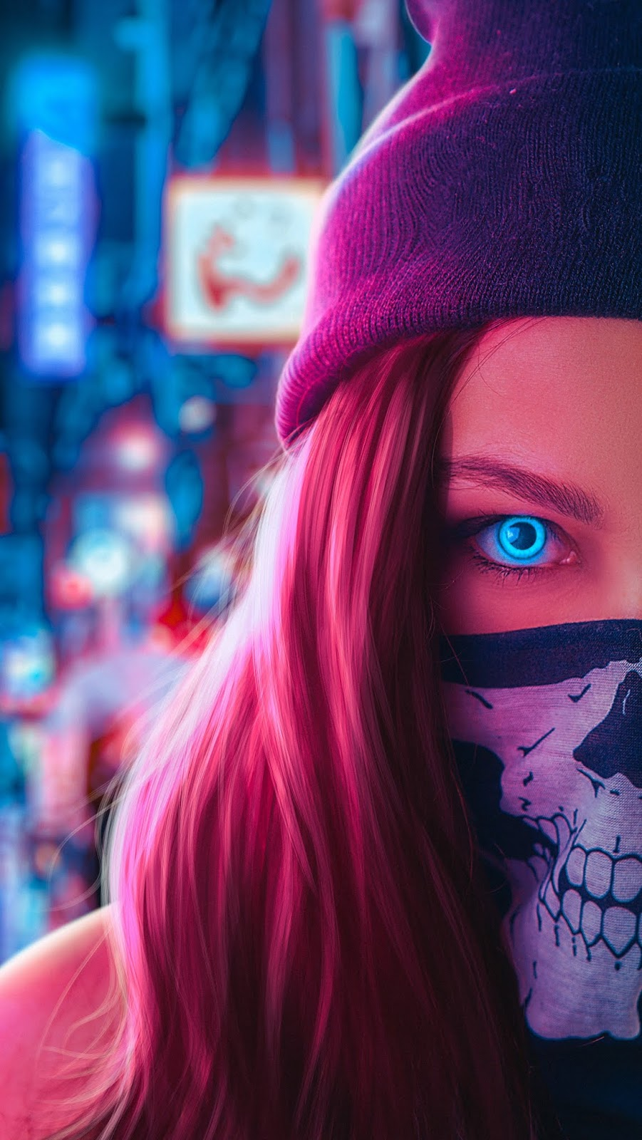 Blue eyes wallpaper