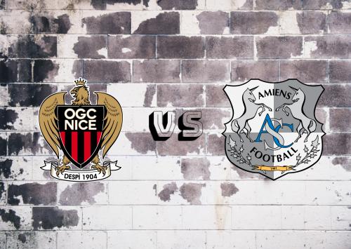 Nice vs Amiens SC  Resumen