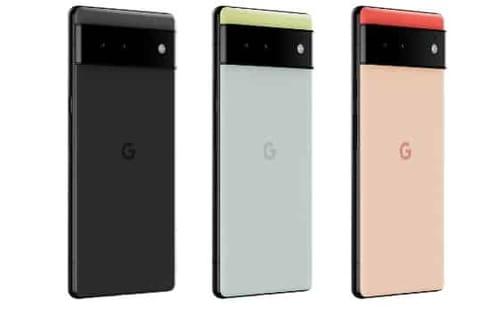 Pixel 6 with Samsung sensors