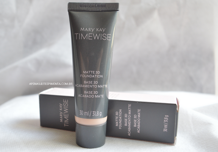 Resenha Base TimeWise 3D Mary Kay