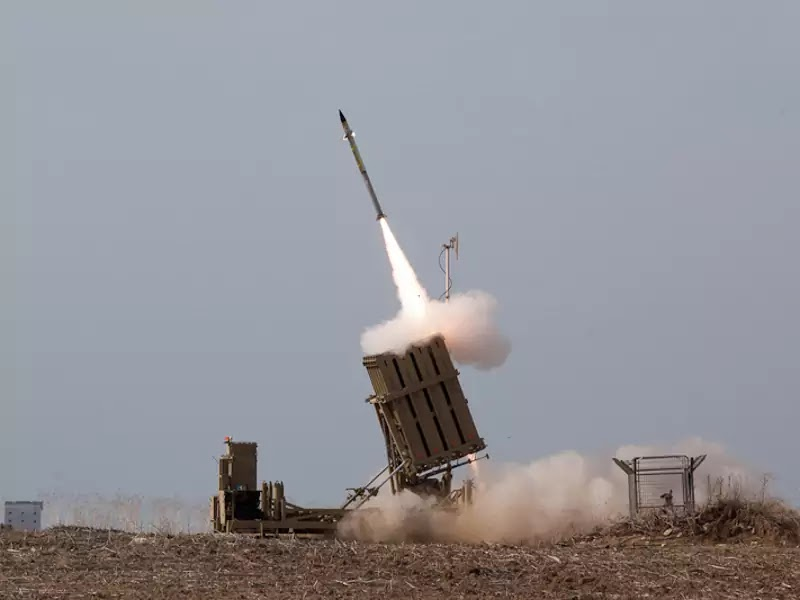 Iron-Dome-Air-Defense-Missile-System