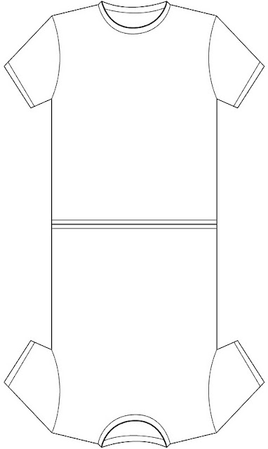 T-Shirt Templates for Cards or Invitations.