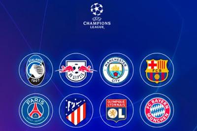 دوري أبطال أوروبا .. تعرف على مواجهات ومباريات دور الثمانية