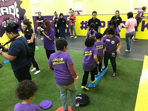 Aktiviti cuti sekolah SuperDayCamp SuperPark