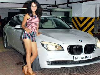 which car kangana ranaut has