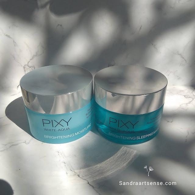 Pixy White Aqua Brightening Moisturizer & Sleeping Mask
