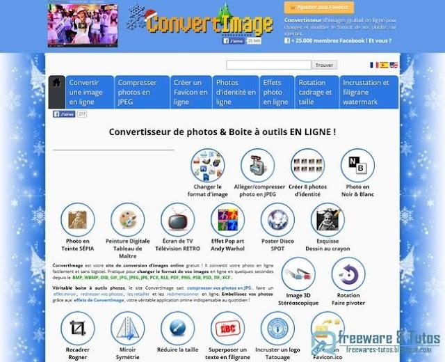 ConvertImage : une boîte à outils en ligne pour vos photos