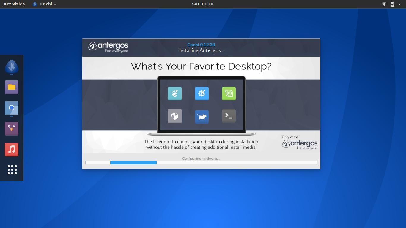 Antergos Linux Resmi Diakhiri oleh Pengembang
