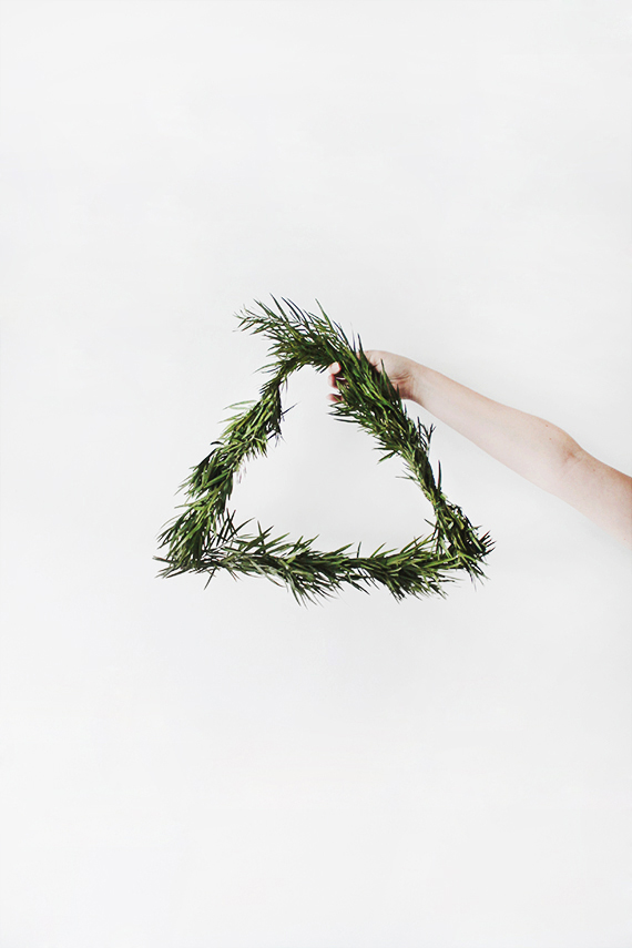 Minimalist wreath ideas | Almost Makes Perfect