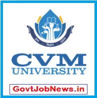 CVM University Recruitment -2020