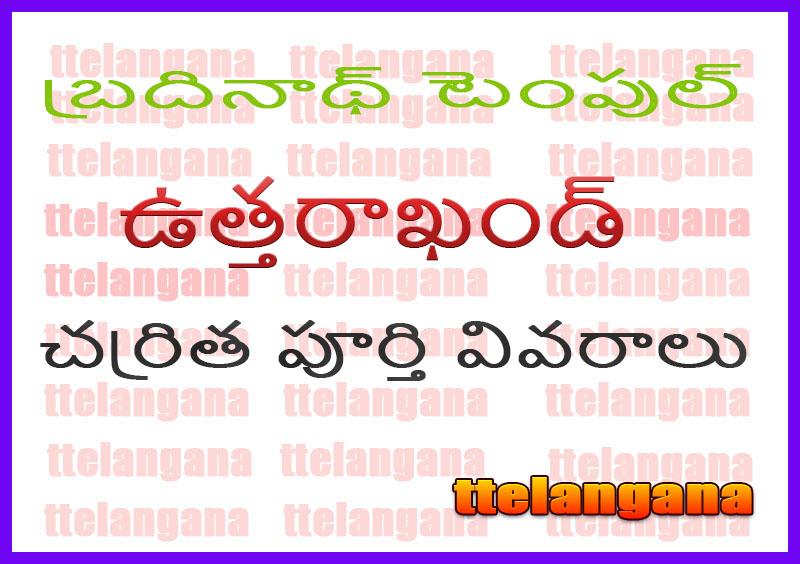 బద్రినాథ్ టెంపుల్  ఉత్తరాఖండ్ చరిత్ర పూర్తి వివరాలు