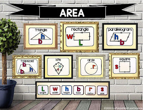 area word wall