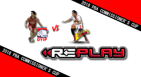 Video Playlist: Columbian vs SMB game replay June 6, 2018 PBA Commissioner's Cup