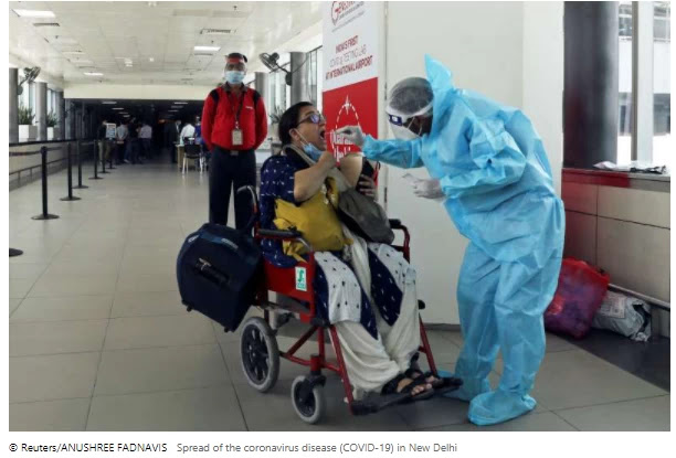 Coronavirus cases in India exceeded 5 million