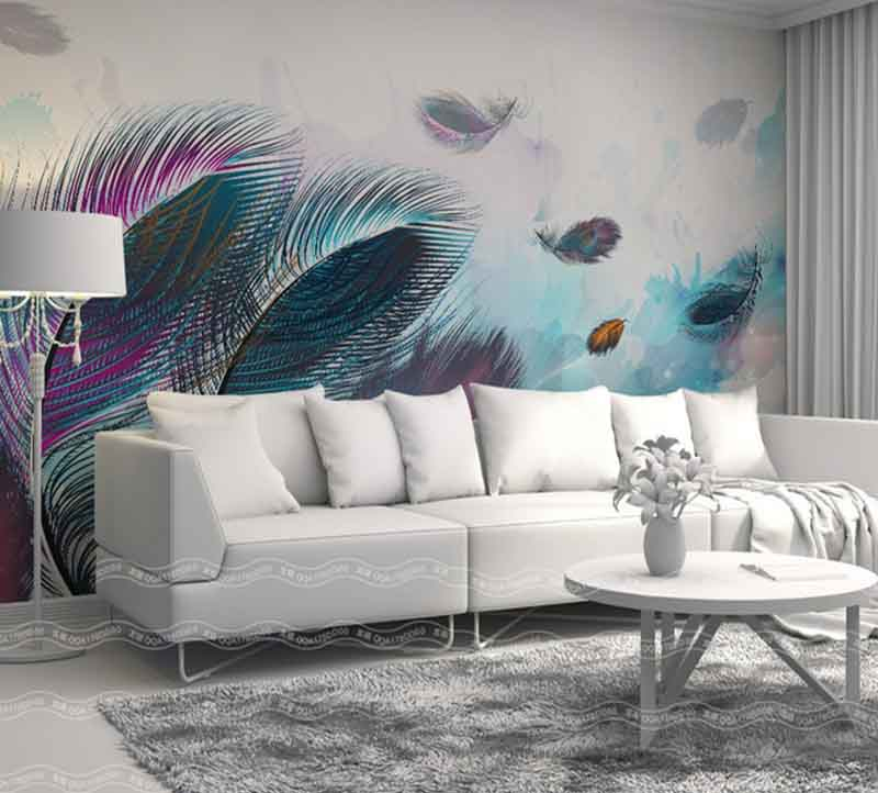 3D Wallpaper For Walls For Living Room Modern Interior 2018