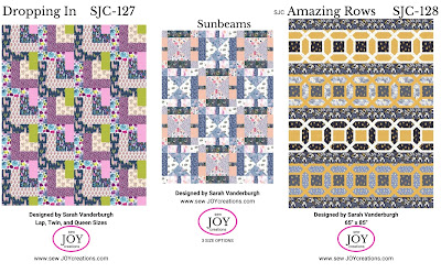 Dear Stella fabrics patterns Sew Joy Creations