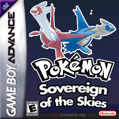 Pokemon Sovereign of the Skies gba rom hack