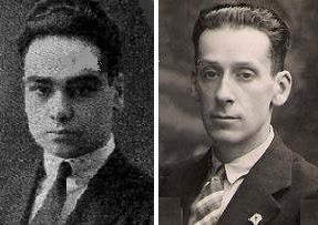 Los ajedrecistas Josep Vilardebó y Antonio García Castellà