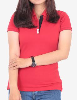 áo thun đỏ nữ