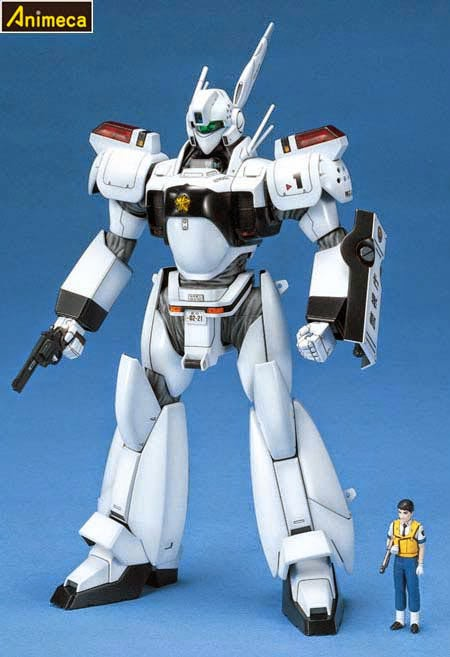 MODEL KIT INGRAM 01 MASTER GRADE (MG) 1/35 Mobile Police PATLABOR BANDAI
