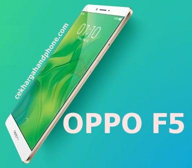 Oppo F5 Layar Full Bezelless dan Satu Kamera Selfie