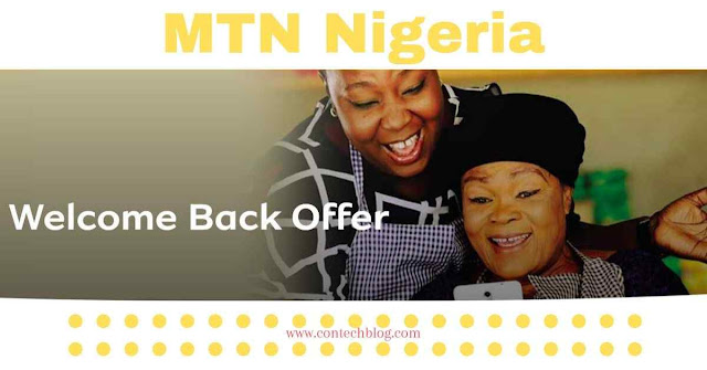 MTN welcome back data plan