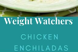 Weight Watchers Chicken Enchiladas