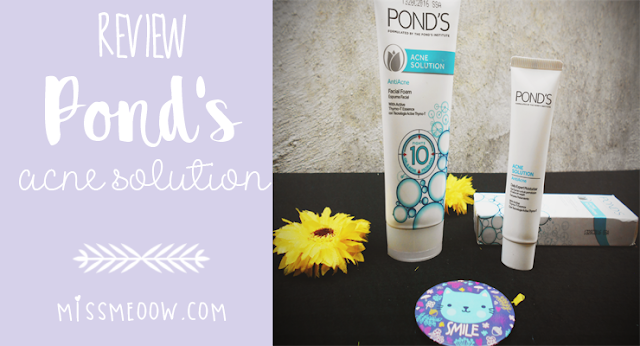 Pond's Acne Solution ¿Funciona?